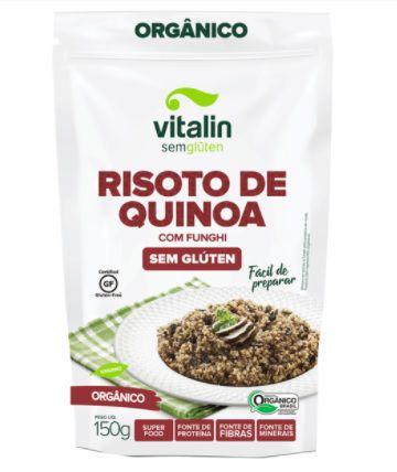 Risoto Organico de Quinoa com Funghi 150g