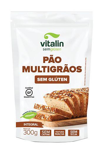 Mistura Integral para Pão Multigrãos Sem Glúten 300g