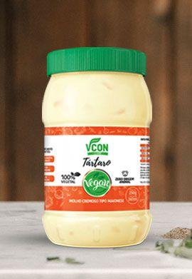 Maionese Vegana Vcon Tártaro 250g