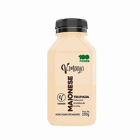 Maionese Vegana  Trufada 100 Foods 200g