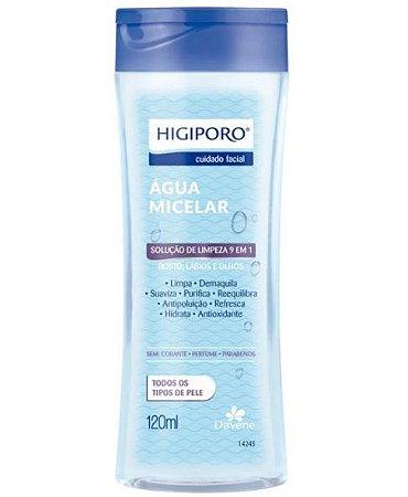 Agua Micelar Higiporo Todos os Tipos de Pele