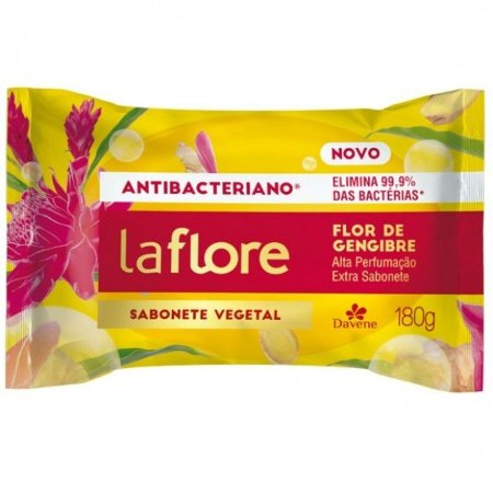 Sabonete Vegano Antibacteriano Gengibre 180g