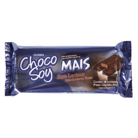 "Choco Soy Mais - Tipo ""Bis"" Vegano Sem Gluten"