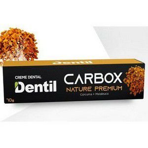 Creme Dental Vegano Dentil Carbox Nature Premium Curcuma e Melaleuca 70g