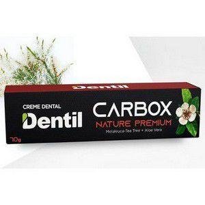 Creme Dental Vegano Dentil Carbox Nature Premium Melaleuca e Aloe Vera 70g