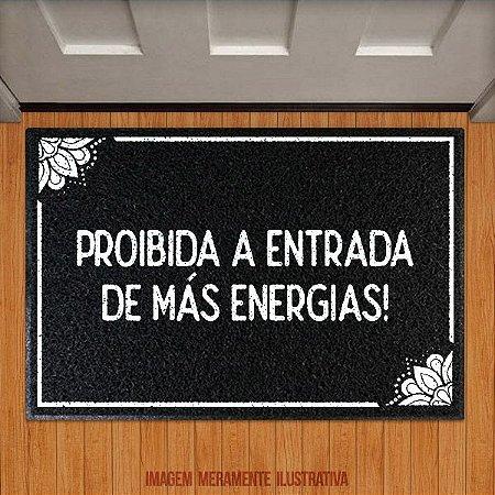 Capacho Proibida a entrada de más energias