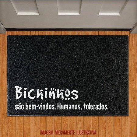 Capacho Bichinhos são bem-vindos