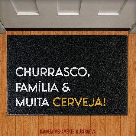 Capacho Churrasco, Família e muita Cerveja