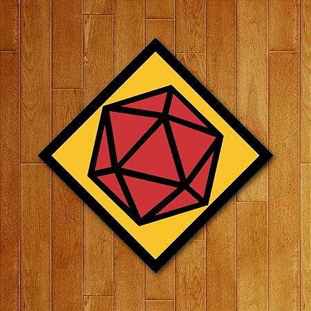 Placa Decorativa D20