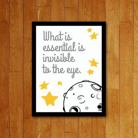 Placa Decorativa Invisible To The Eye