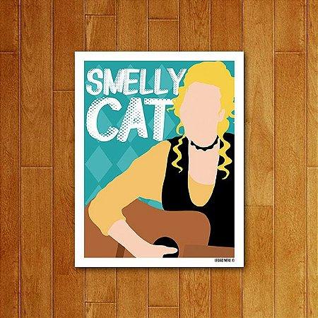 Placa Decorativa Smelly Cat