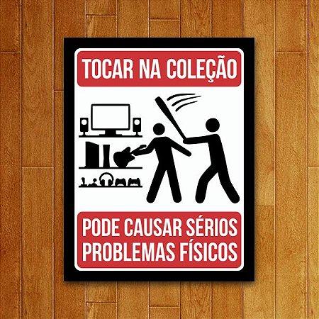 Placa Decorativa Coleção Gamer