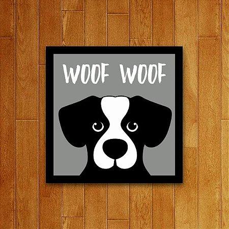 Placa Decorativa Woof Woof V2