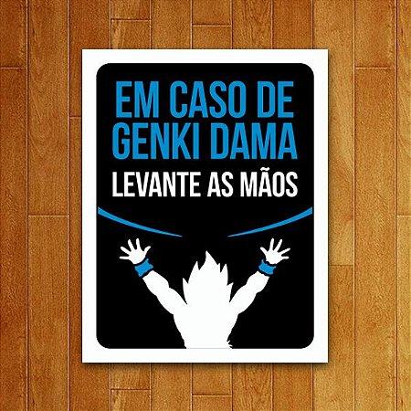 Placa Decorativa Levante As Mãos
