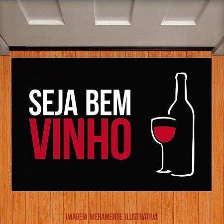 Capacho Seja bem vinho