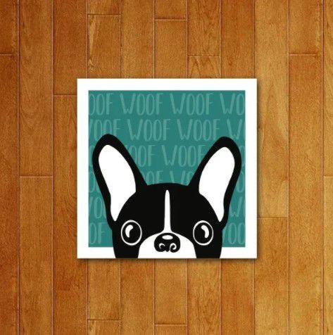 Placa Decorativa Woof Woof V3