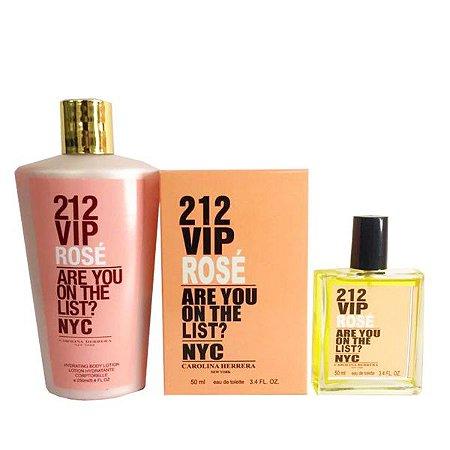 Kit Perfume 50ml + Hidratante Corporal - ESCOLHA SUA FRAGRÂNCIA