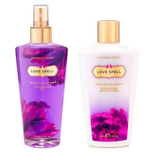 kit Creme e Perfume Victoria Secret Promoção
