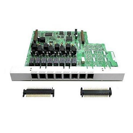 Placa de Expansão 3 Linhas e 8 Ramais KX-TE82483 - Pabx Panasonic KX-TES32BR