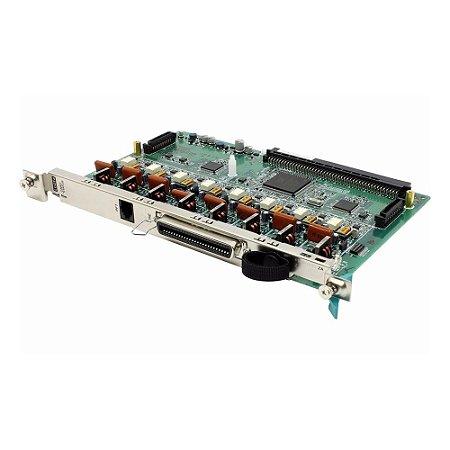 Placa PABX Panasonic KX-TDA 0180 8 troncos analógicos