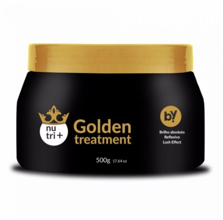 MÁSCARA GOLDEN TREATMENT NUTRI + 500G BY YOU COSMETICS