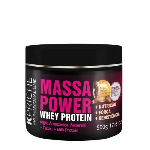 MÁSCARA MASSA POWER WHEY PROTEIN 500G