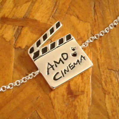Pulseira amo cinema