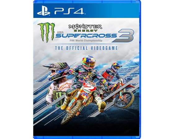 Jogo Square Enix Monster Energy SuperCross 3 PS4