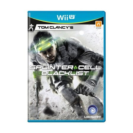 Novo: Jogo Tom Clancy's - Splinter Cell Blacklist - Wii U