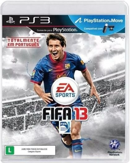 Novo: Jogo Fifa 13 - PS3