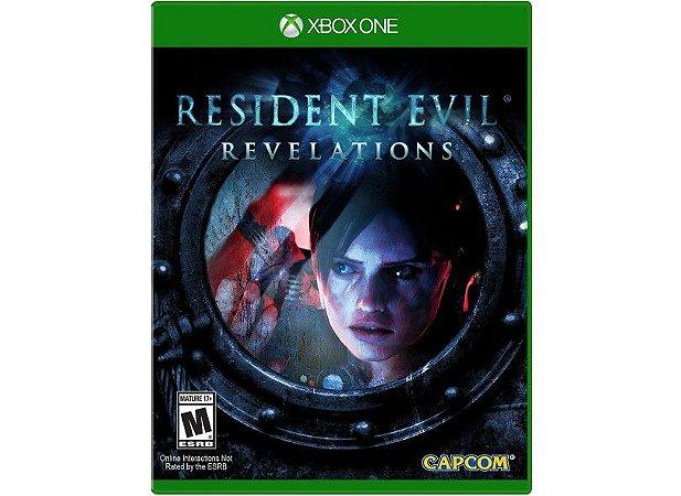 Novo: Jogo Resident Evil Revelations - Xbox One