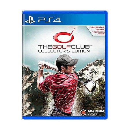 Novo: Jogo The Golf Club - Collector's Edition - PS4