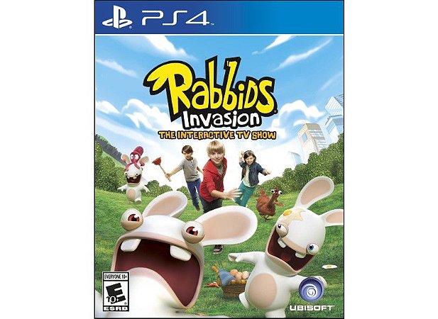 Novo: Jogo Rabbids: Invasion - PS4