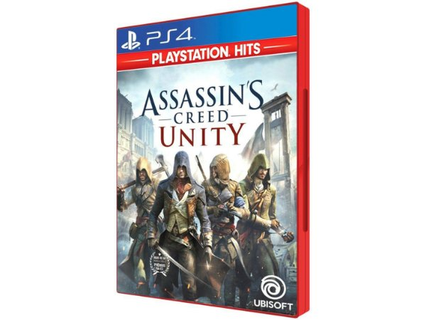 Novo: Jogo Assassin's Creed Unity - PS4