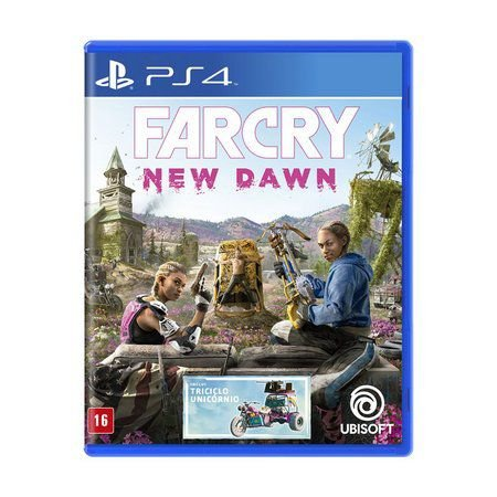 Novo: Jogo Far Cry: New Dawn - PS4