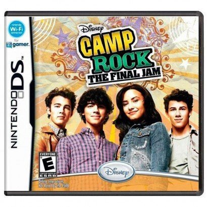 Novo: Jogo Disney Camp Rock - The Final Jam - Nintendo 3DS