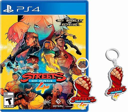 Jogo Streets Of Rage 4 (Pré-Venda) - PS4