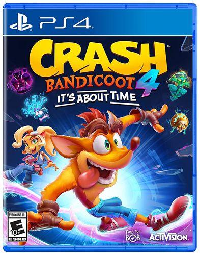 Novo: Jogo Crash Bandicoot 4: It's About Time (Pré-venda) - PS4