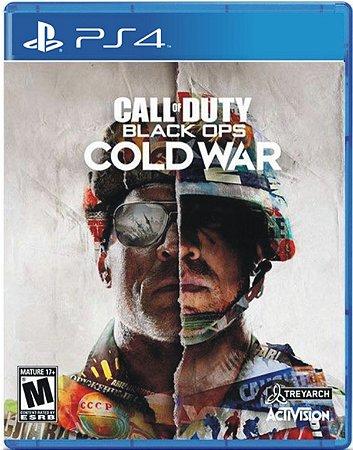 Novo: Jogo Call of Duty: (COD) Black Ops Cold War (Pré-venda) - PS4
