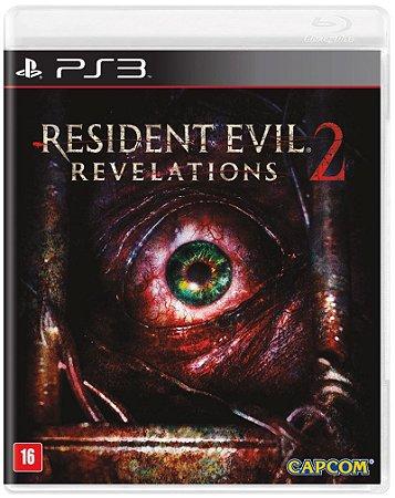 Novo: Jogo Resident Evil Revelations 2 - PS3