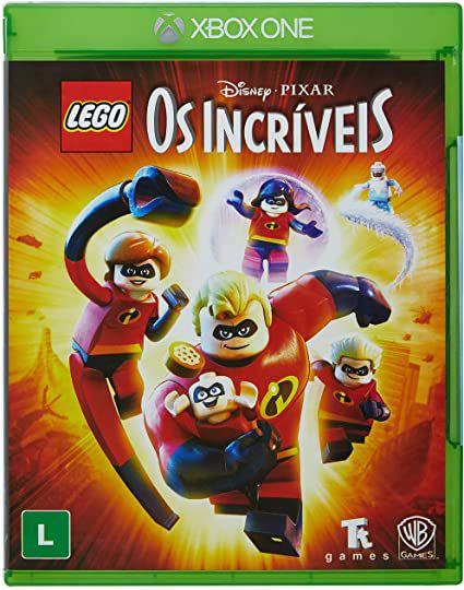 Novo: Jogo Lego: Os Incríveis - Xbox One