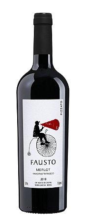 Vinho Tinto Pizzato Fausto Merlot 2018