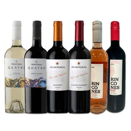 Kit Vinhos Chilenos Montgras