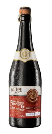 Alem Bier Barleywine Brandy & Oak Infused - 750 ml