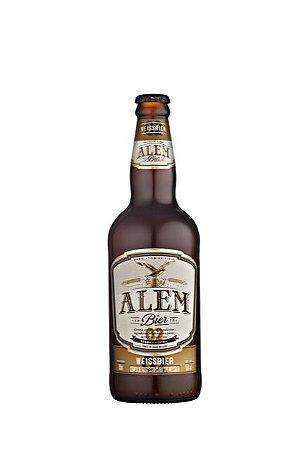 Alem Bier Cerveja de Trigo tipo Weissbier - 500ml