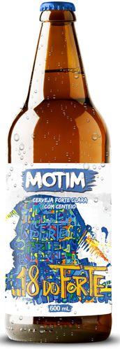 Cerveja Motim 18 do Forte 600ml