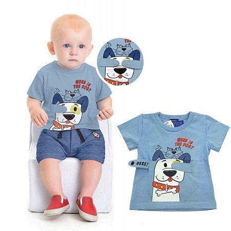 Roupa de Bebê Menino Camiseta Divertida Brincar