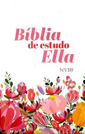Bíblia NVI de Estudo Ella