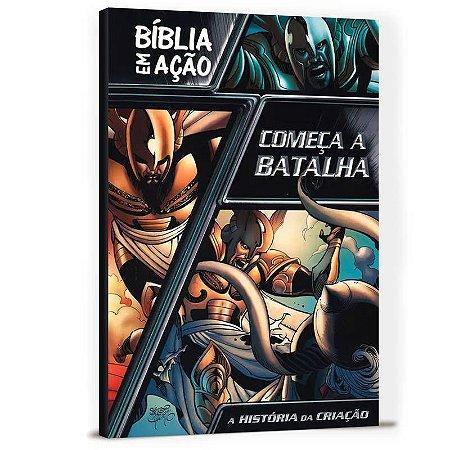 LIVRO BÍBLIA EM AÇÃO COMEÇA A BATALHA