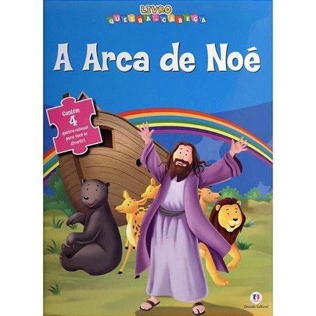 LIVRO QUEBRA CABEÇA A ARCA DE NOE